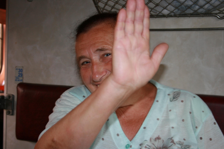 High-five Olga